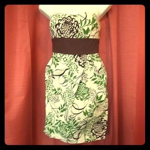 Dress green & brown size 3 Trixxi brand